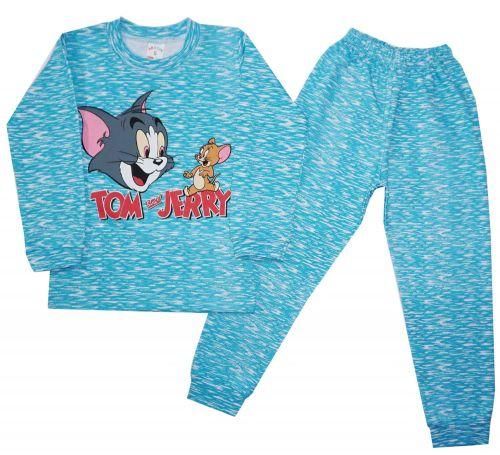 Пижама теплая детская  5-8 №FU426